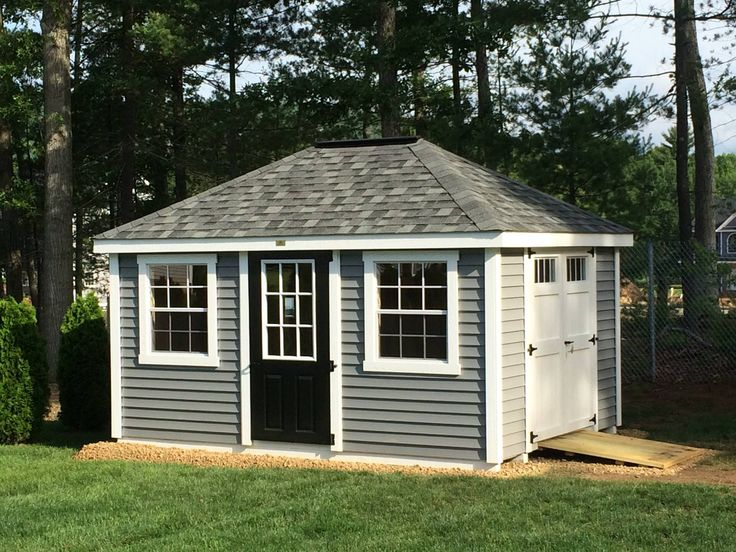showing off some shedlove this 10x14 new england villa was delivered - Garden Sheds New Hampshire