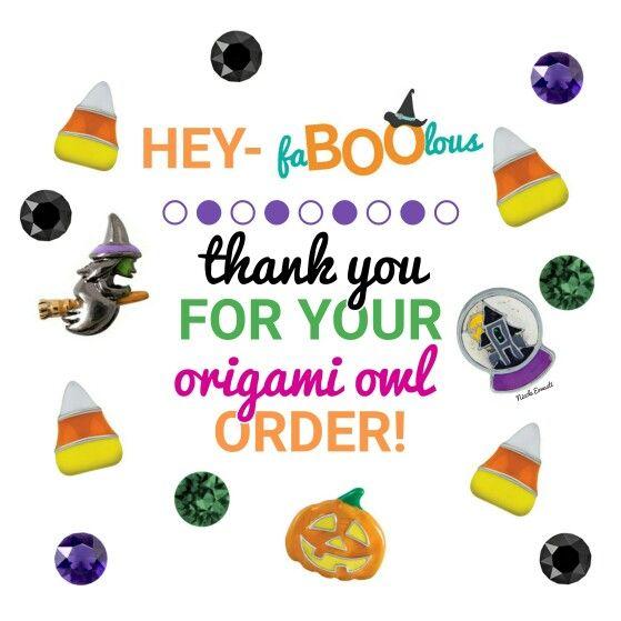 Origami Owl~Halloween www.chainoflove.origamiowl.com