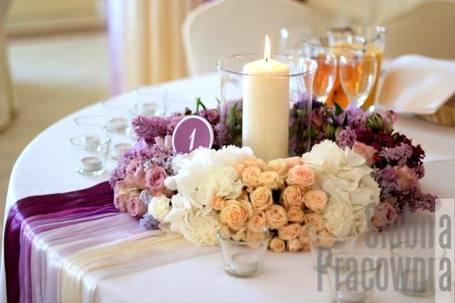 wianek ombre wesele