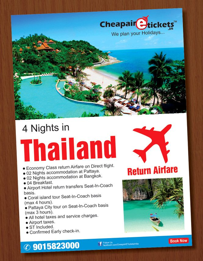 Best International Vacation Packages Images On Pinterest - Thailand tour package