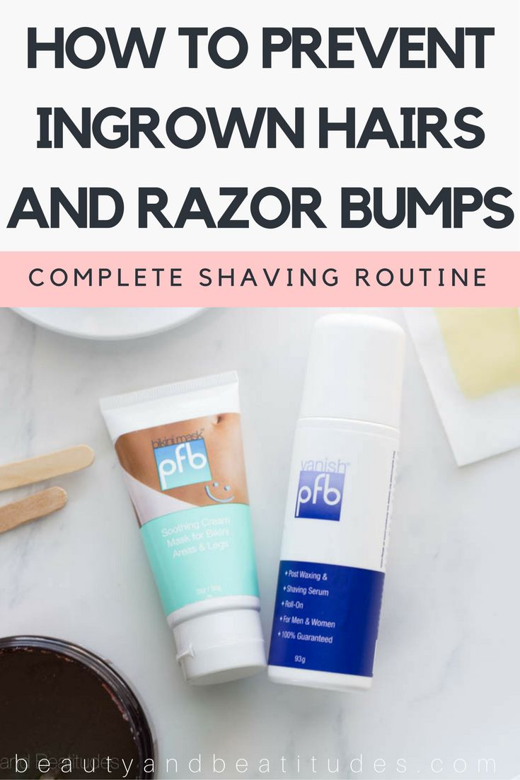 My Waxing & Shaving Routine