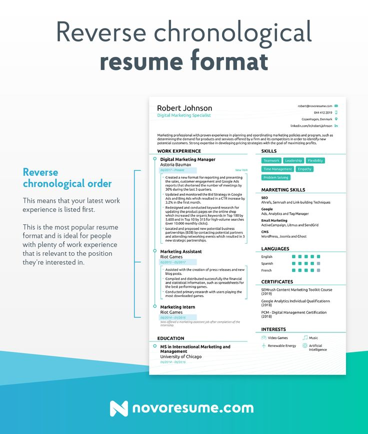 How to Write a Resume in 2020 Basic resume, Resume