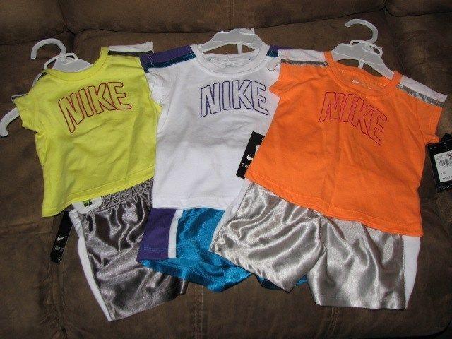 Nike Baby Shirt & Shorts Outfit Set #Nike #Shorts