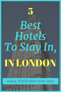 Top Five 5 Star Hotels In London