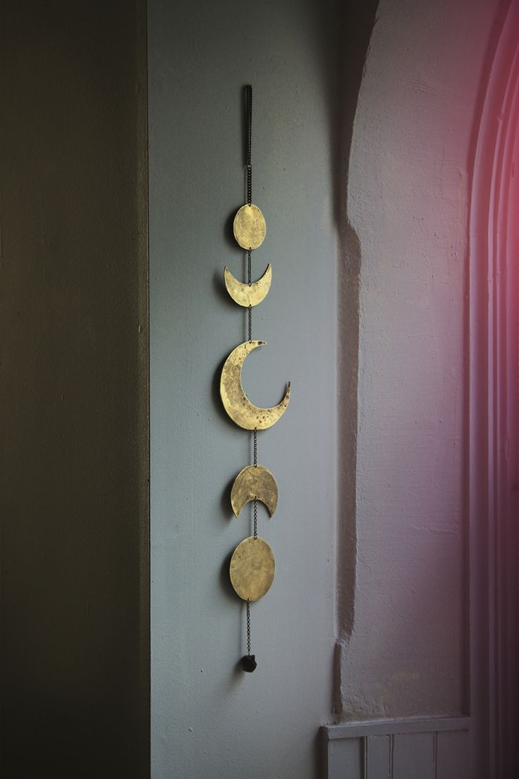 moon phases hanging