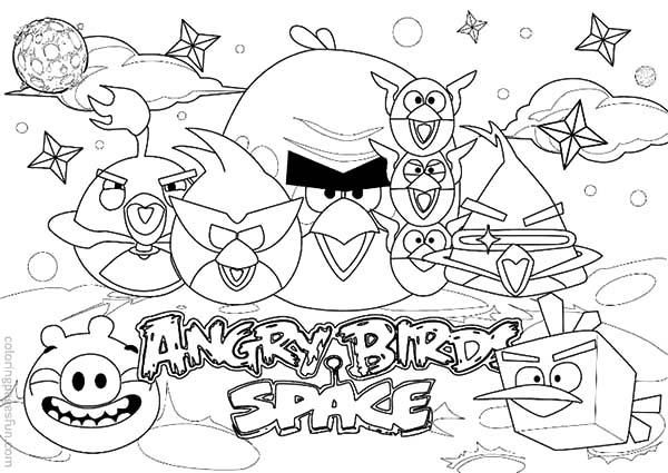 How To Draw Angry Bird Space Coloring Pages Bird Coloring Pages Space Coloring Pages Free Coloring Pages