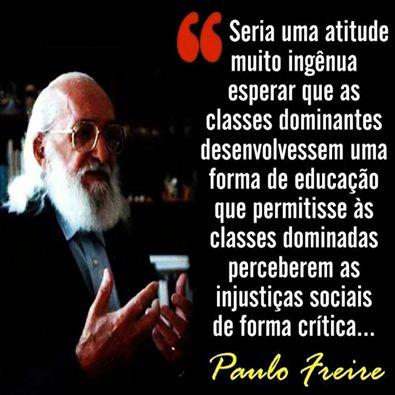 Tag Frases De Paulo Freire