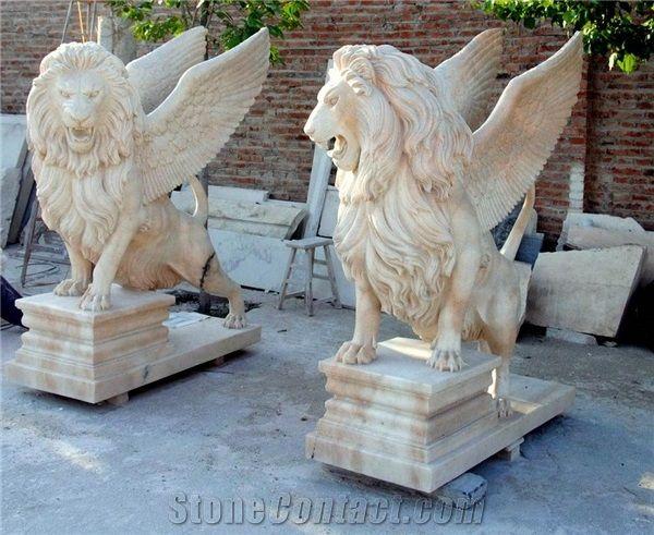 Marvelous Large Yellow Marble Stone Lions Sculpture,Garden Marble Lion Statue    Xiamen Chonglian Imp.u0026Exp.Co.,Ltd | House U0026 Home | Pinterest | Lion  Sculpture And ...