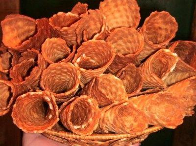 Вафельные трубочки. Тесто без яиц