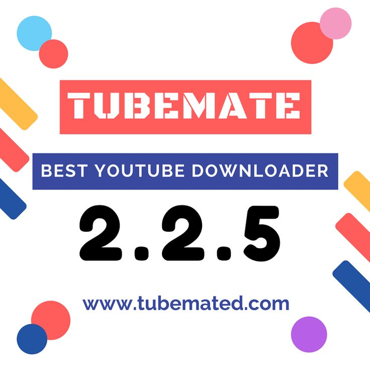 TubeMate is the best YouTube Video Downloader for Android.  You can download videos so much easily by TubeMate Video Downloader! TRY Now!!  # Fastest # Direct Video Downloading # MP3 Download # Freeware   Download Link: http://tubemated.com/tubemate-2-2-5-download-for-android/