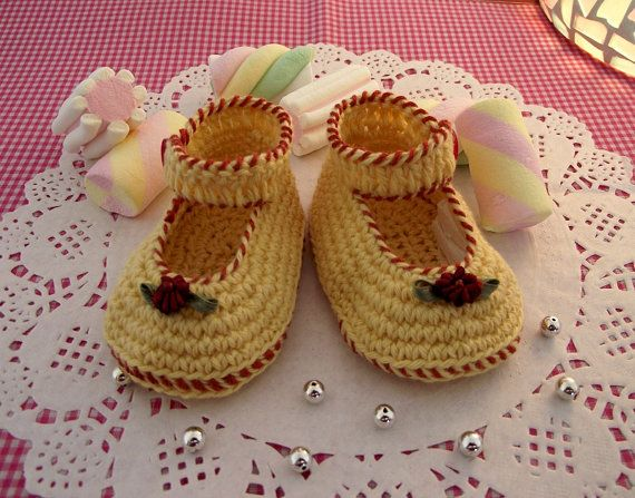 Crochet Baby Shoes Pattern  Little Lilly Baby by LiliaCraftParty