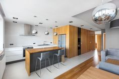 Open/Private Apartment by mode:lina architekci - CAANdesign