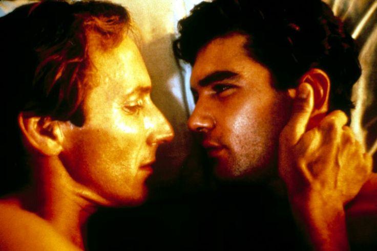 Eusebio Poncela, Antonio Banderas, 1987 | Essential Gay Themed Films To Watch, Law of Desire (La Ley Del Deseo) http://gay-themed-films.com/watch-law-of-desire/