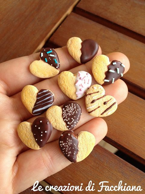 Chocolate covered heart biscuit *Miniature by Facchiana, via Flickr is creative inspiration for us. Get more photo about home decor related with by looking at photos gallery at the bottom of this page. We are want to say thanks if you like to share this post to another people via …