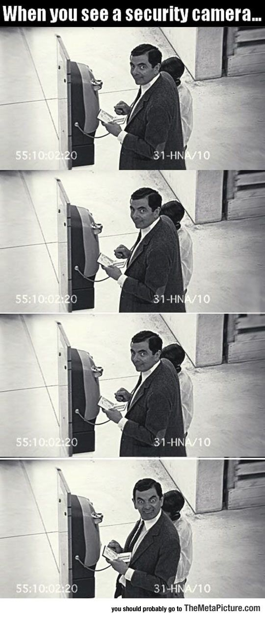 Security Camera Spotted