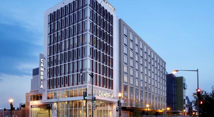HOTEL|アメリカ・ワシントンのホテル>ワシントンコンベンションセンターから400mに位置>カンブリア スイーツ ワシントン(Cambria Suites Washington)