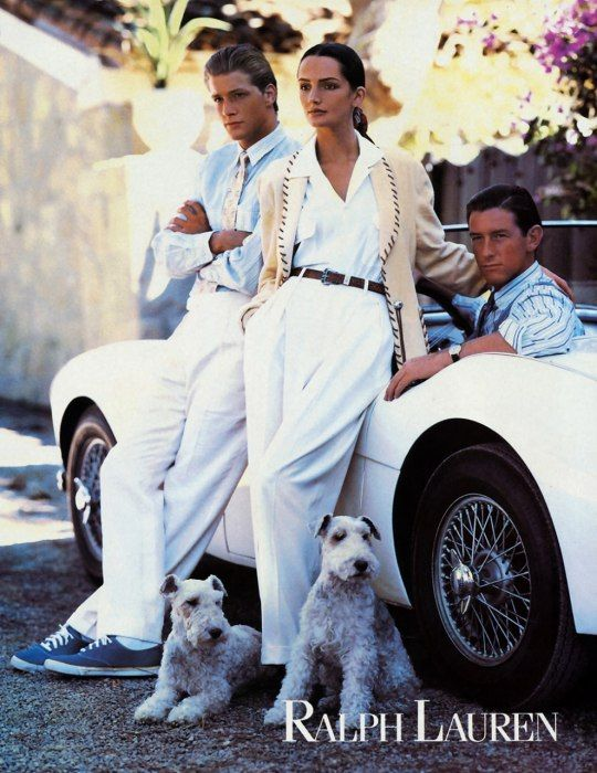 Photos: April 1989 | Ralph Lauren Ads in Vanity Fair | Vanity Fair