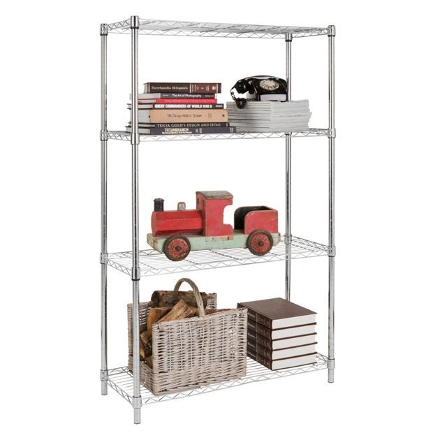 Best 25 metal shelving units ideas on pinterest metal for Heavy duty living room furniture