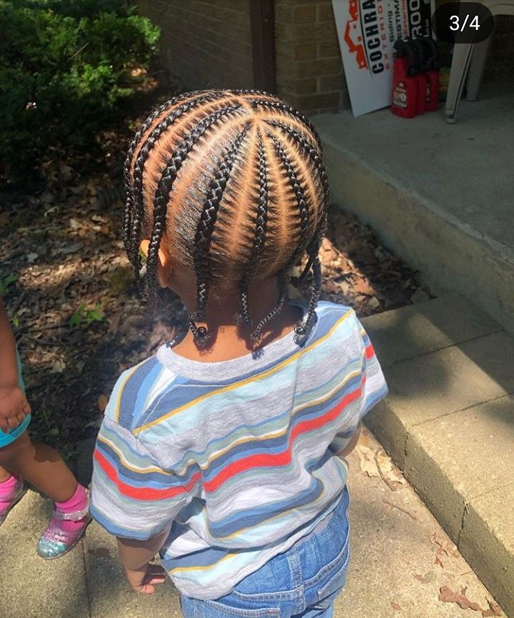 Pin By Jada On Styles To Try Boy Braids Hairstyles Braids For Boys Little Boy Hairstyles