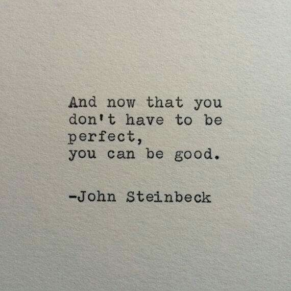 Thanks to Elizabeth Gilbert for sharing this one from one of my favorite authors.