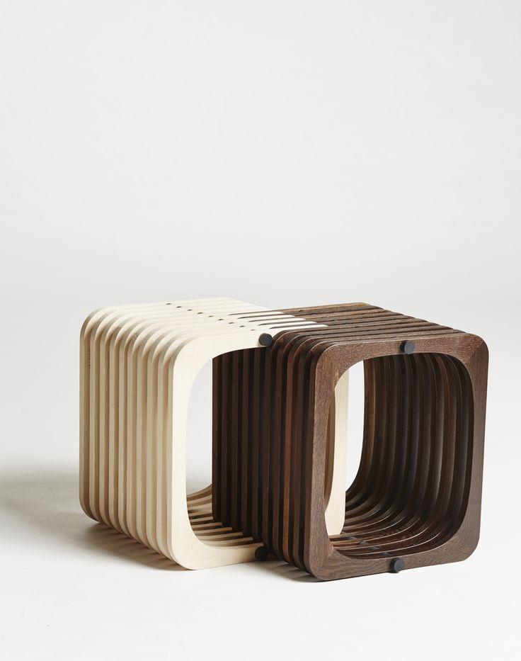 Create your own display / repetition. #dark #light #design #wood #furniture http://www.kjeldtoft.com/