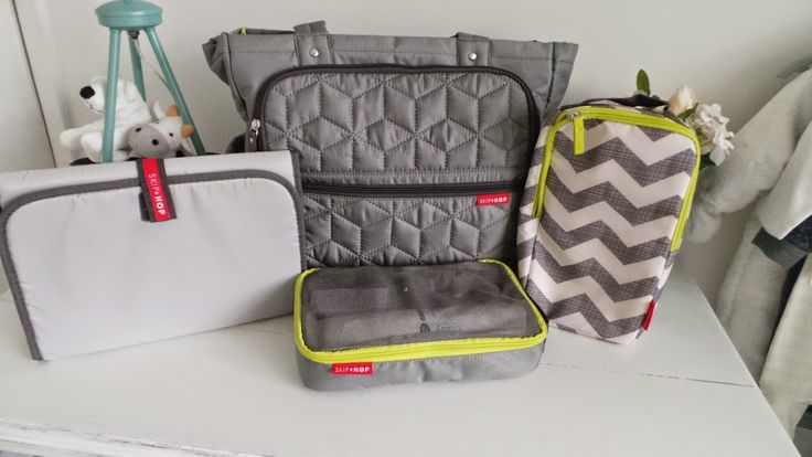 SkipHop Forma- Grey, Changing Bag Review!!