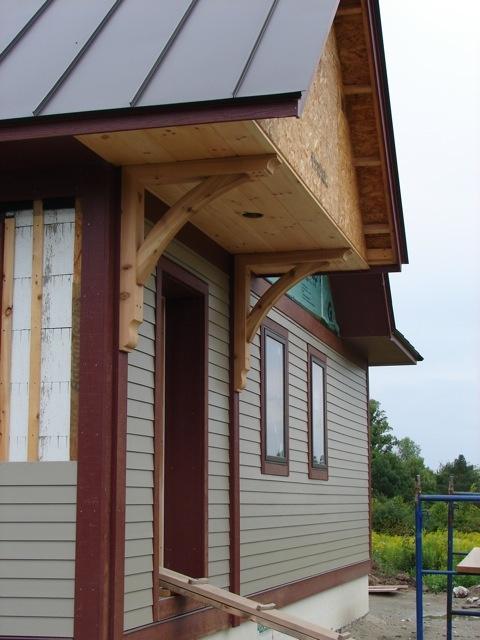 Portico Roof Construction Detail Roof Design Door