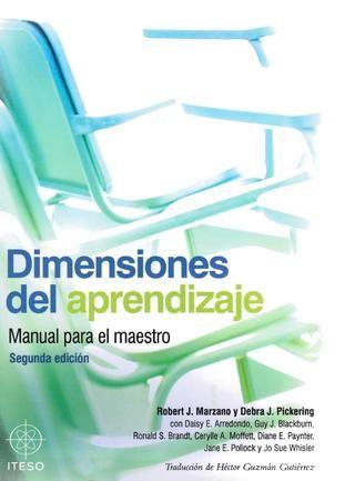 Dimensiones del aprendizaje manual del maestro. EDUCACIÓN APRENDIZAJE DIDACTICA