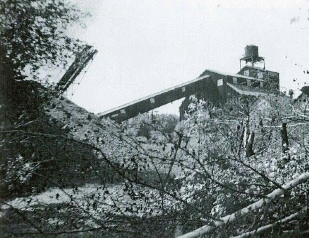 cranston coal mine once stood where garden city newport creamery stands now