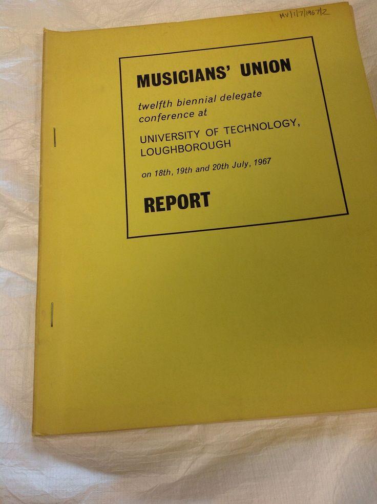 Biennial conference report - Loughborough, 1967