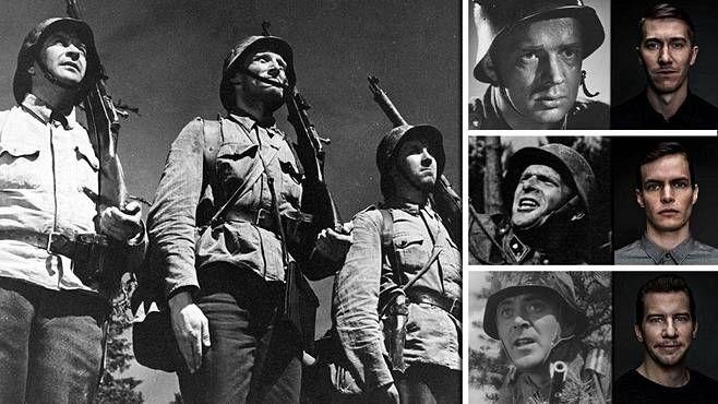 Edvin Laineen ohjaama Tuntematon sotilas julkaistiin vuonna 1955. Elokuva perustuu Väinö Linnan samannimiseen romaaniin. 30 vuotta myöhemmin, vuonna 1985, julkaistiin Rauni Mollbergin ohjaama Tuntematon sotilas. Aku Louhimiehen ohjaama Tuntematon sotilas saa ensi-iltansa vuonna 2017.