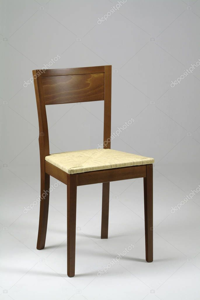 Wooden Chair White Background Stock Photo Spon White Chair Wooden Photo Ad