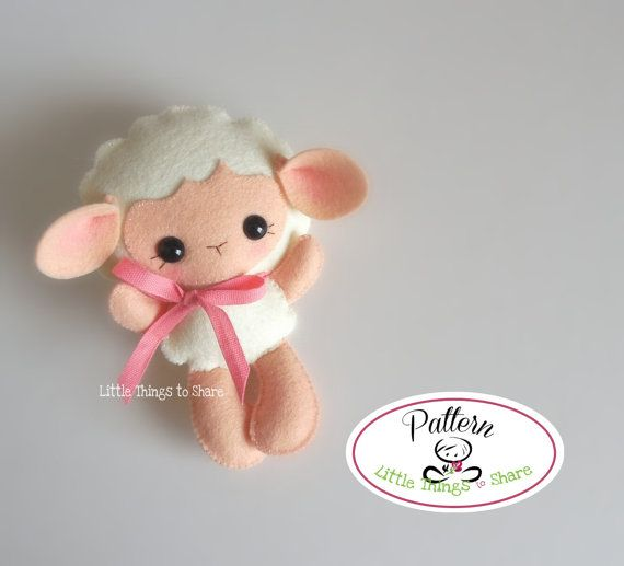BABY SHEEP (PDF)  This cute little friend is BABY SHEEP, perfect to be part of a cute baby mobile or as a present for anyone!! As always quick, easy and fun to make. This PDF document will give you instructions and patterns to hand-sew a lovely 5 inches SHEEP. **You will receive an electronic file with pattern and instructions. No physical items will be sent**  This PDF includes:  • List of materials needed (all easy to find) • List of tools to be used • Photo tutorial • Full size pattern…