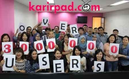 Membuka bulan Agustus 2016, Karirpad menggelar syukuran sederhana. Perusahaan Startup yang berlokasi di Slipi, Jakarta Barat ini merayakan jumlah kunjungan ke situs mereka yang sudah menembus angka 3.000.000 pengguna setiap bulannya. Sebuah pencapaian yang cukup luar biasa di usia Karirpad yang baru menginjak 18 bulan.