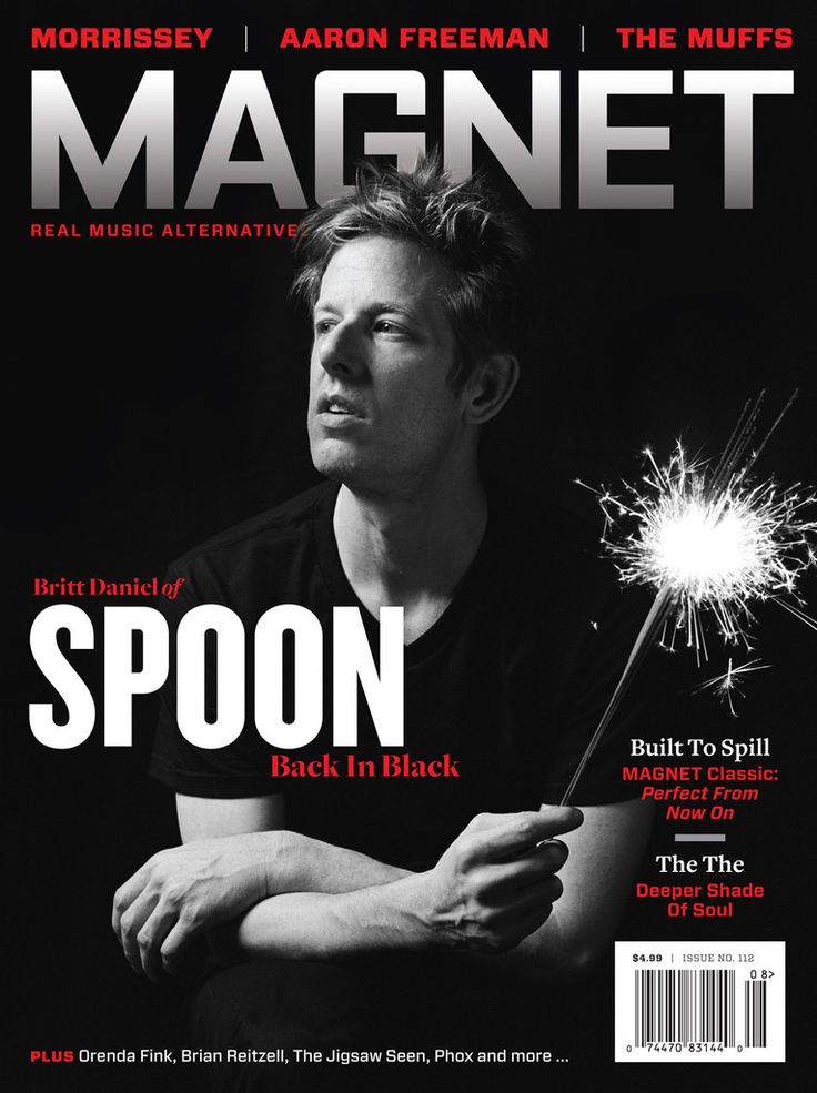 autumndewilde:  BRITT DANIEL of SPOON MAGNET MAGAZINE cover story   Goddamn, I LOVE this band