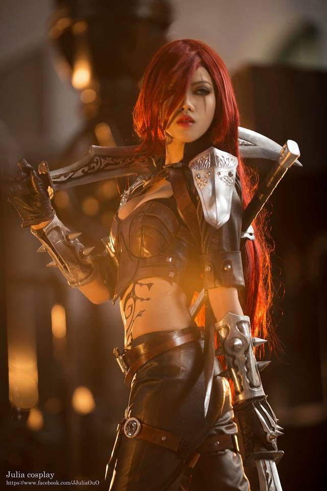 Title: League of Legends Character: Katarina Coser: 咪妃娘娘Julia Cosplayer