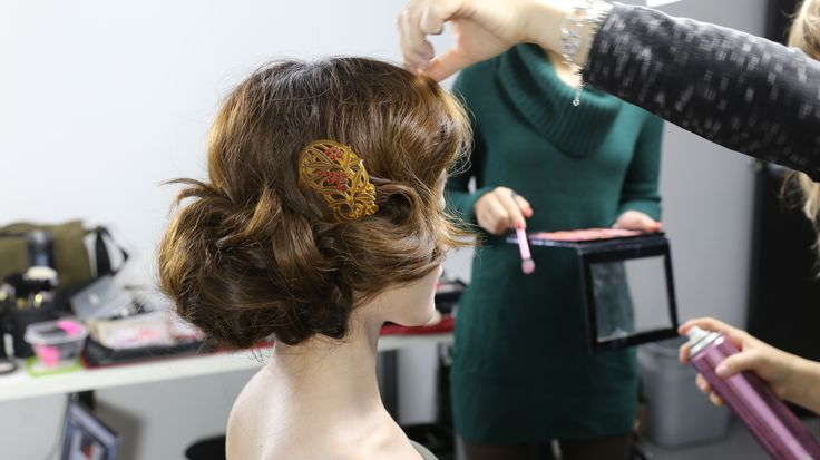 BTS of 100 Years of Beauty: Japan (Mei) #hair #hairstyle #makeup #fashion #style #100yearsofbeauty