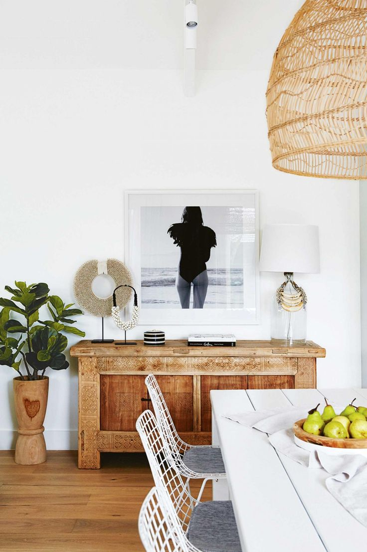 Dining room perfection in The Blocks Dee and Darren's Reno project @insideoutmag dec16