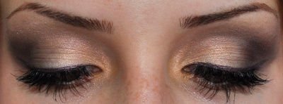 light smoky eye