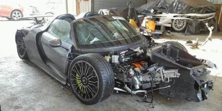 FOR SALE: Lightly Used Porsche 918 Spyder, Only 92 Miles, Needs TLC