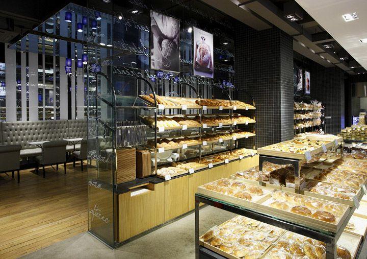 Paris Baguette Bakery By Jhp Seoul Store Design Bakery