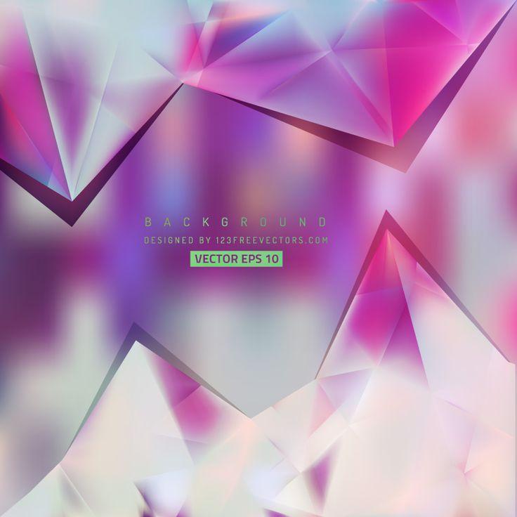 Polygonal Triangular Background Template  - https://www.123freevectors.com/polygonal-triangular-background-template-68709/