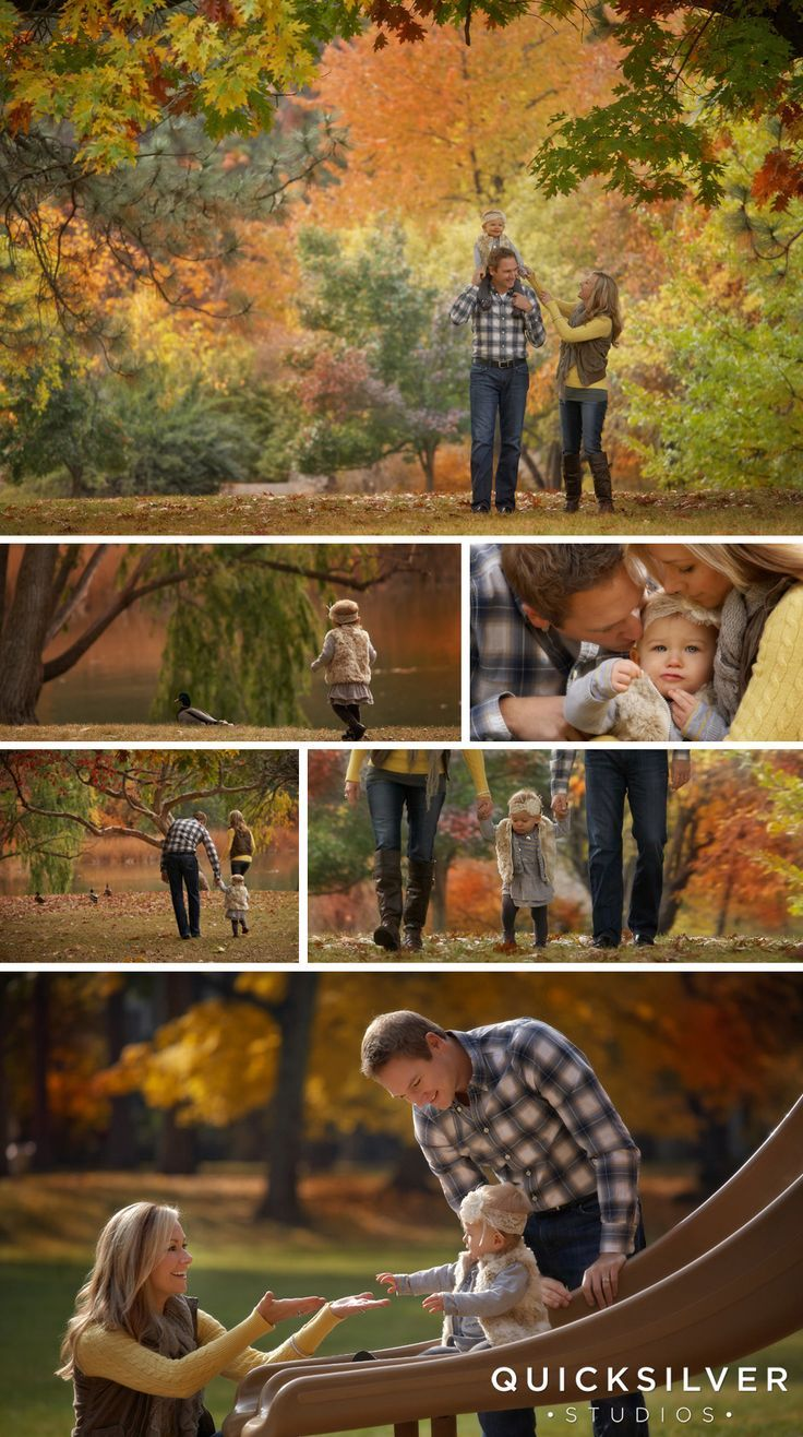 Family of 3 outdoor photo shoot