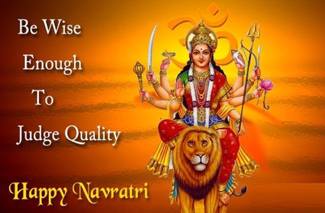 happy navratri whatsapp status in hindi, english,
