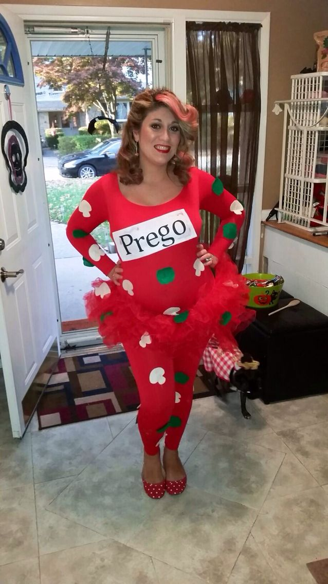 My prego Halloween costume ! Pregnant Halloween costume!