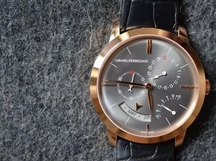 Hands-On With The Girard-Perregaux 1966 Annual Calendar With Equation of Time