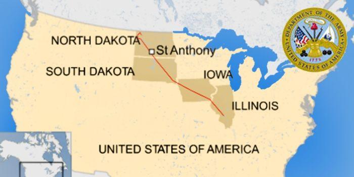 Best Dakota Pipeline Route Ideas On Pinterest Dakota Access - Us army corps of engineers map of dapl