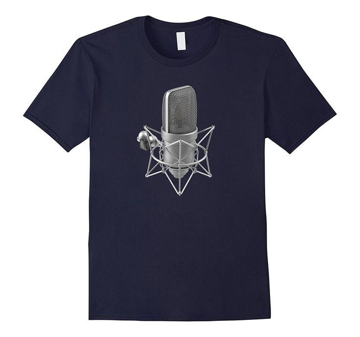 Recording Studio Microphone T-Shirt