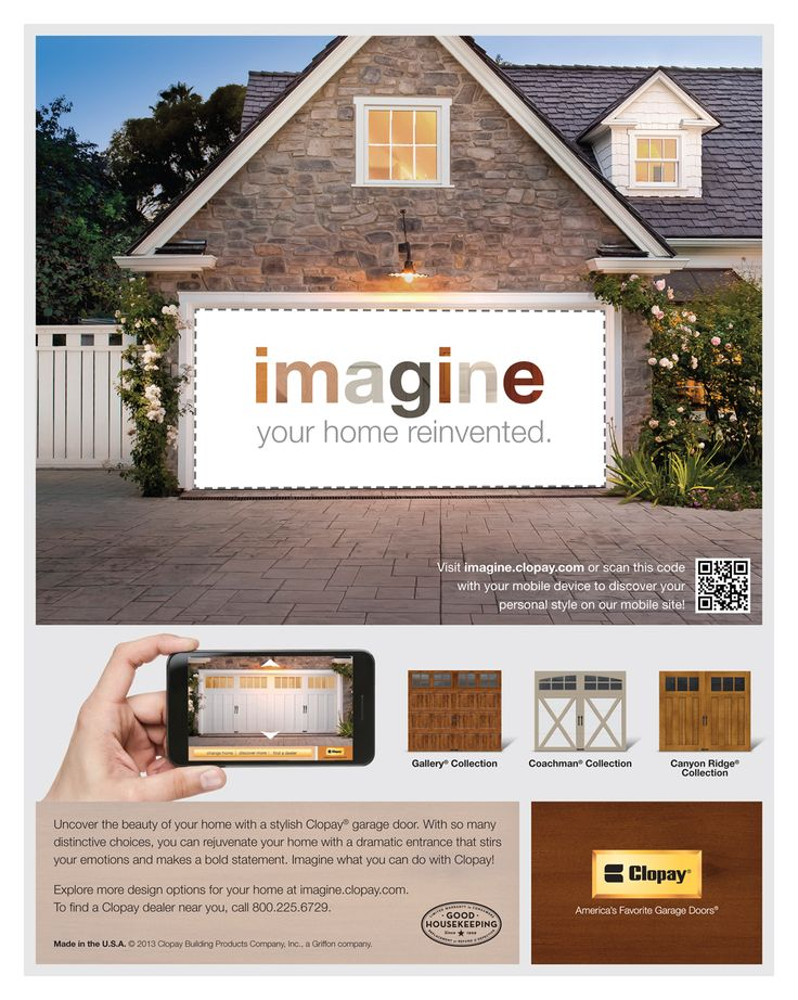 159 best images about before and after exterior makeovers for Clopay garage door colors
