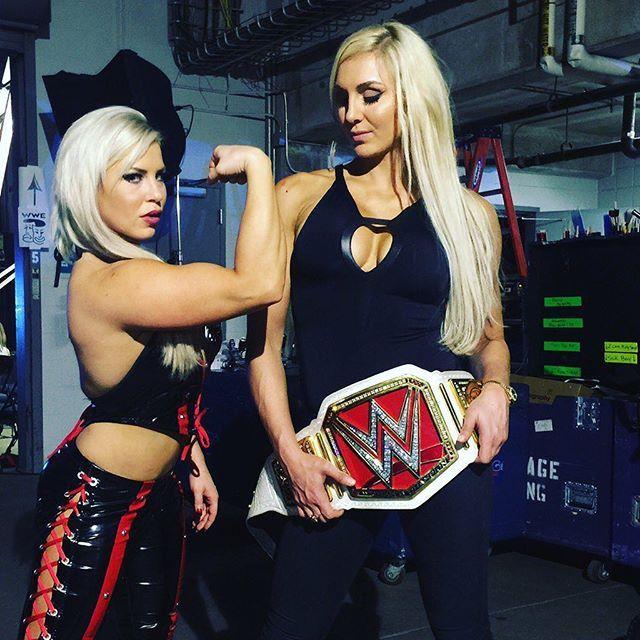 Dana Brooke & Charlotte #WWE